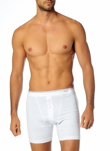 Blackspade Boxer Beyaz